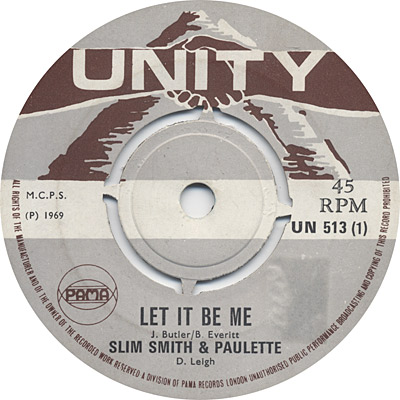 Slim And Paulette - Let It Be Me