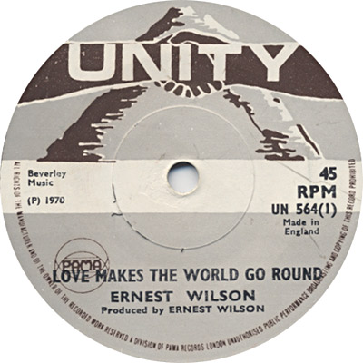 Ernest Wilson - Love Makes The World Go Round