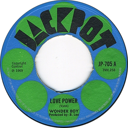 Wonder Boy - Love Power