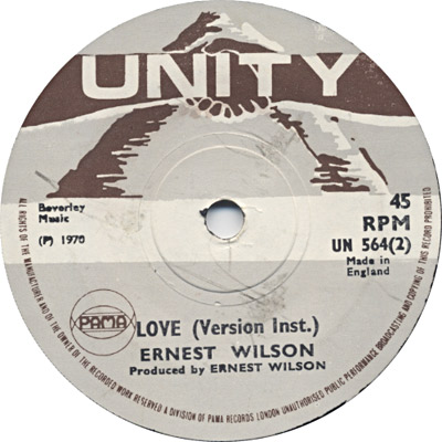 Ernest Wilson - Love (Version Inst.)