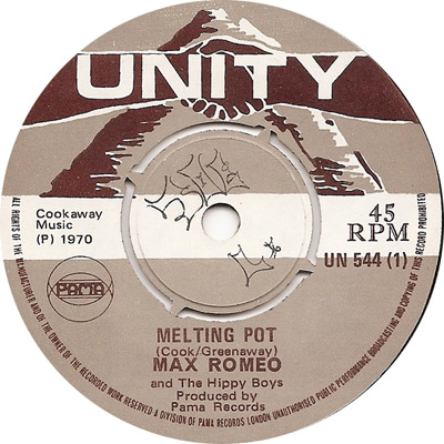 Max Romeo And The Hippy Boys - Melting Pot