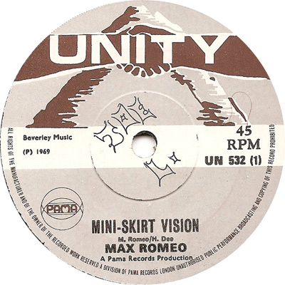 Max Romeo - Mini Skirt Vision