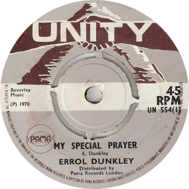 Errol Dunkley - My Special Prayer