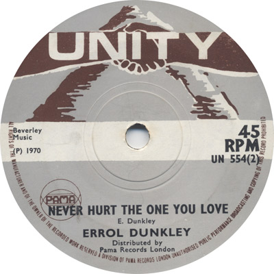 Errol Dunkley - Never Hurt The One You Love