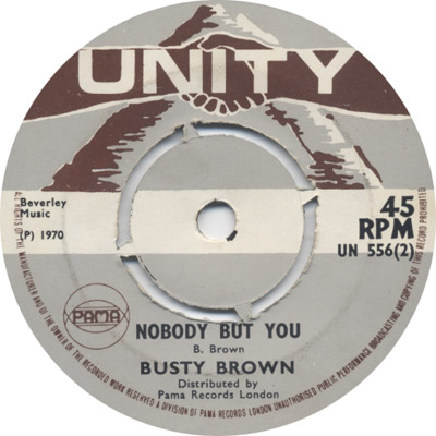 Busty Brown - Nobody But You