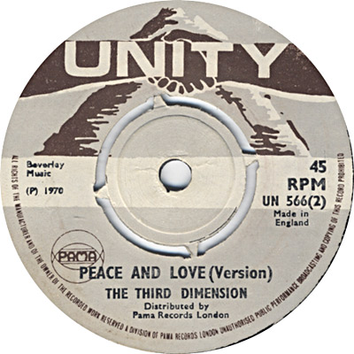 The Third Dimension - Peace And Love (Version)