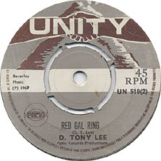 D Tony Lee - Red Gal Ring