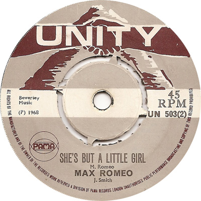 Max Romeo - She\'s But A Little Girl