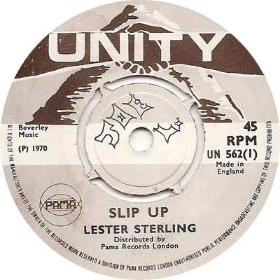 Lester Sterling - Slip Up