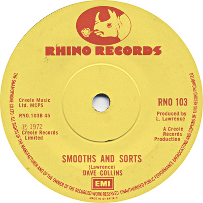 Dave Barker - Smooths And Sorts