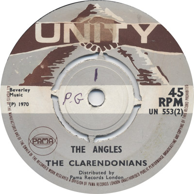 The Clarendonians - The Angles