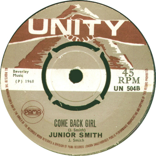 Junior Smith - Come Back Girl