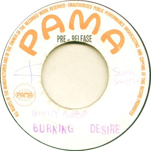 Slim Smith - Burning Desire