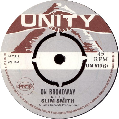 Slim Smith - On Broadway