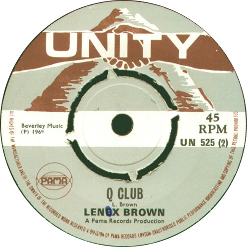 Lenex Brown - The Q Club