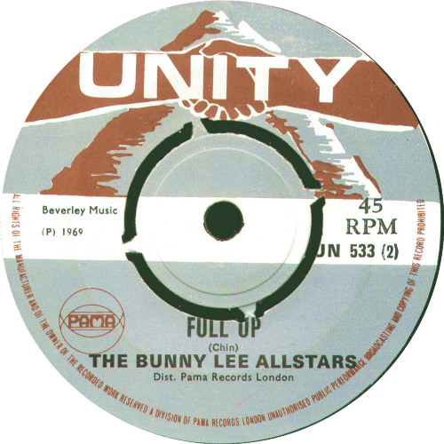 Bunny Lee All Stars - Full Up