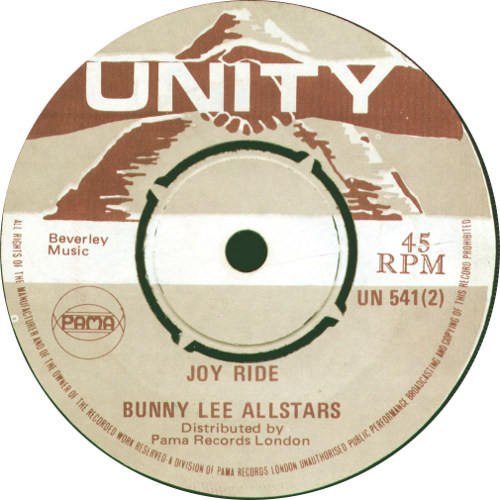 Bunny Lee All Stars - Joy Ride