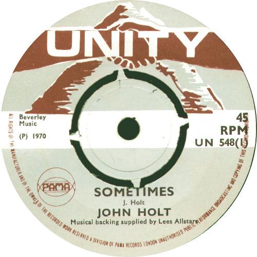 John Holt - Sometimes