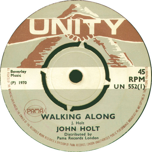 John Holt - Walking Along