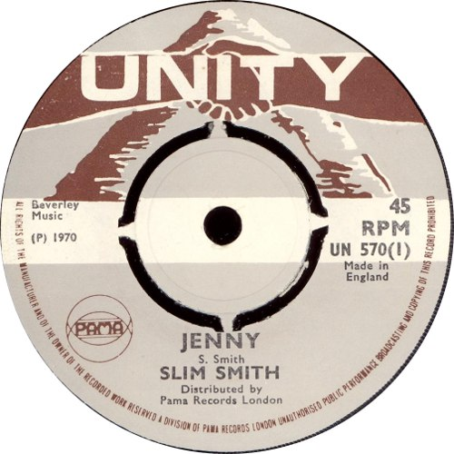 Slim Smith - Jenny