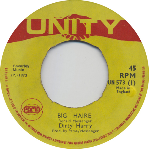 Dirty Harry - Big Haire