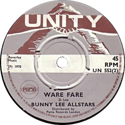 Bunny Lee All Stars - Ware Fare