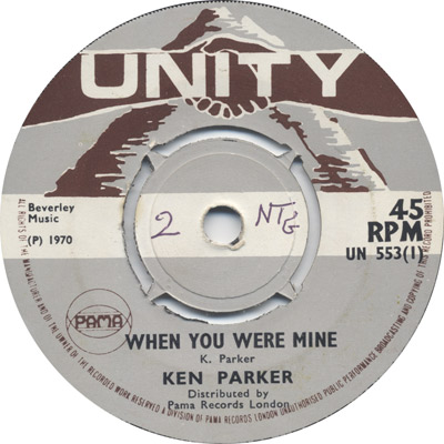 Ken Parker - When You Were Mine