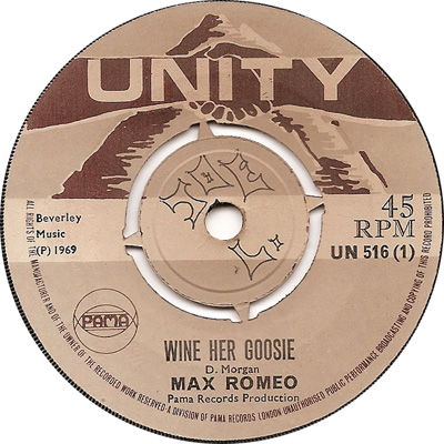 Max Romeo - Wine Her Goosie