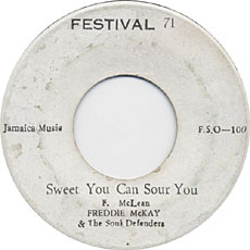 Freddie McKay - Sweet You Can Sour You
