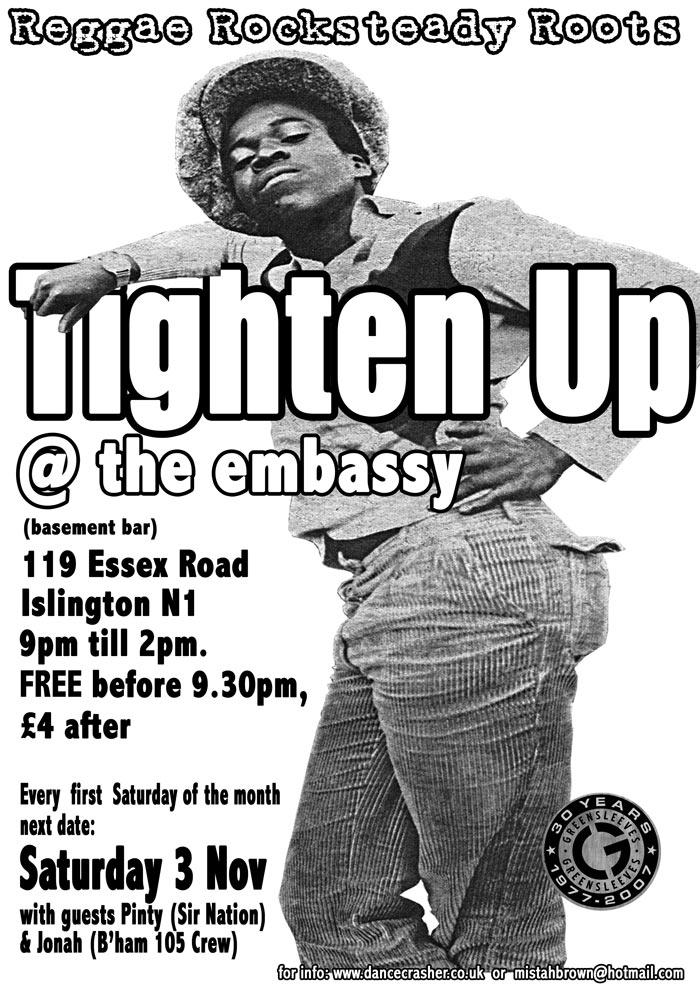 Poster - Tighten Up - Nov 2007
