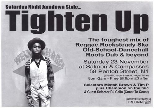 Poster - Tighten Up - Nov 2002