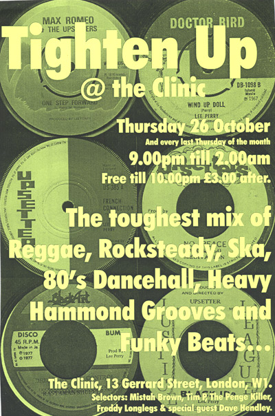 Poster - Tighten Up - Oct 2000