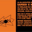 Flyer - Paris Reggae Explosion - Nov 2004
