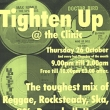 Poster - Tighten Up - Oct 2000