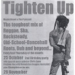 Poster - Tighten Up - Oct-Dec 2001