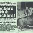 Flyer - Rockers Nuh Crackers - Dec 2002