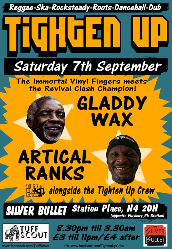 Poster - Tighten Up - Sept 2013