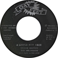 The Melodians - A Little Nut Tree