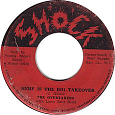 The Overtakers - Here Is The Big Takeover