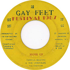 Linval Martin And The Vibrators - Move Up