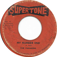 The Paragons - My Number One