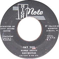 Ken Boothe - Say You