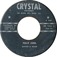 Lloyd And Glenn - That Girl