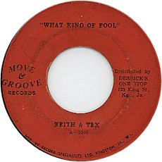 Keith And Tex - What Kind Of Fool