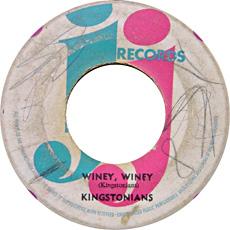 Kingstonians - Winey Winey