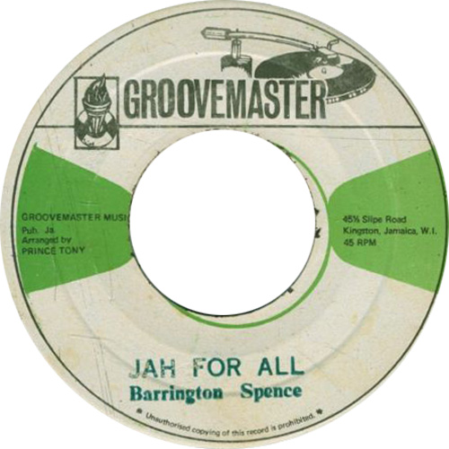 Barrington Spence - Jah For All