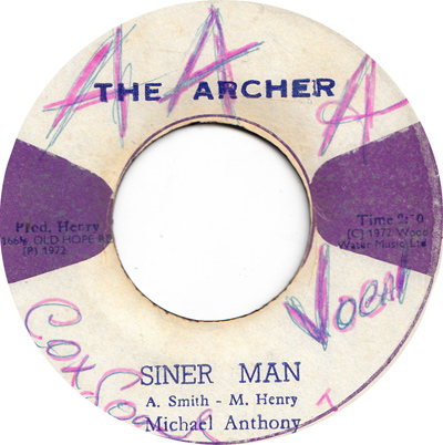 Michael Anthony - Siner Man