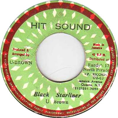 U Brown - Black Starliner