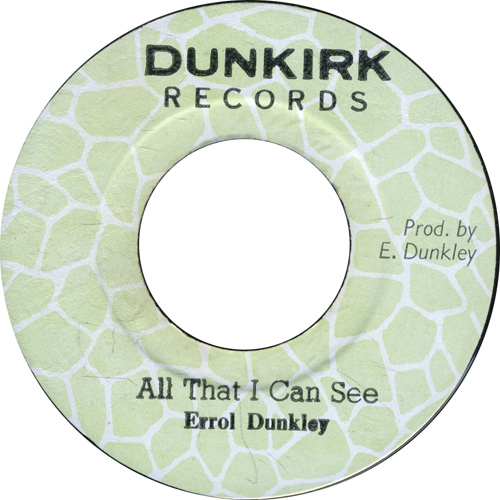 Errol Dunkley - All That I Can See