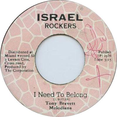 Tony Brevett - I Need To Belong